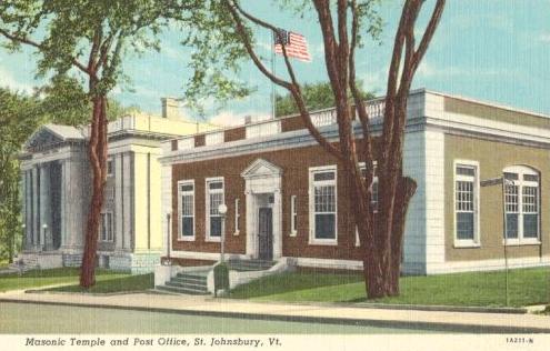 Masonic Temple & Postoffice