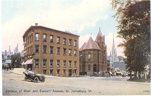 Main St. and Eastern Ave.
